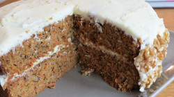Low FODMAP carrot cake